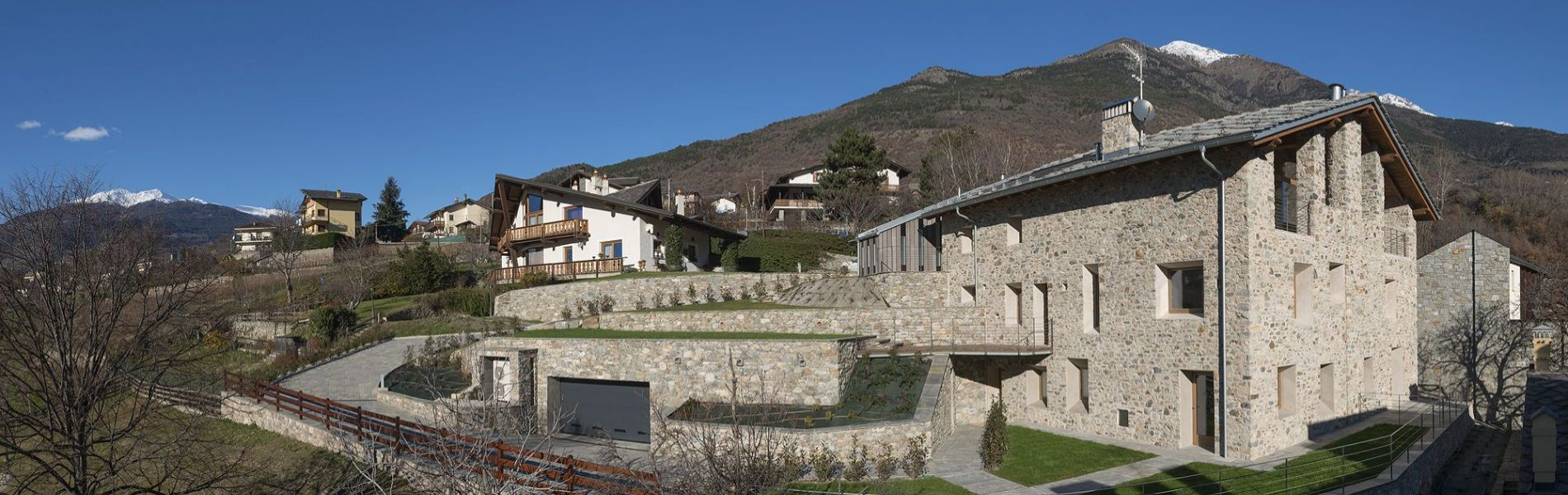 typical aosta valley house